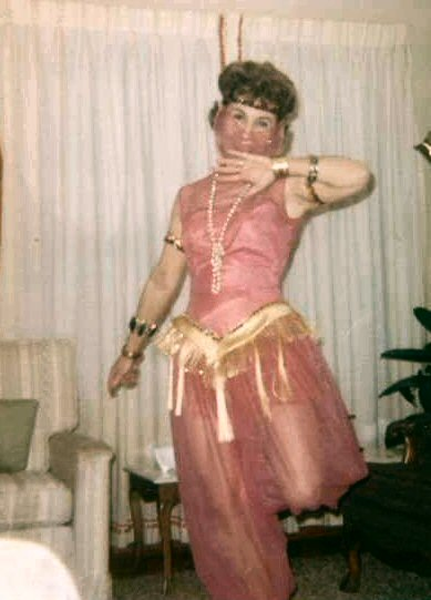 MOM'S COSTUME FOR A PARTY, EARLY 70'S