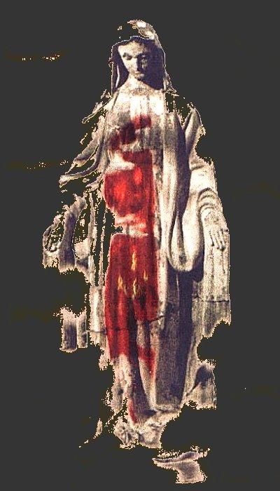 Madonna rednude altered