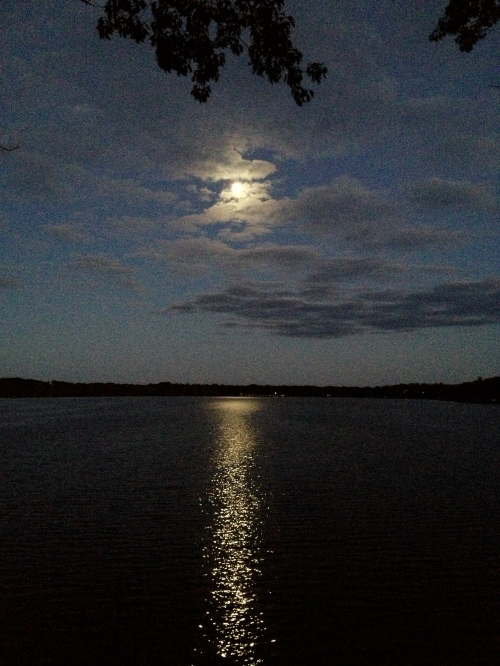 DEASE LAKE FULL MOON