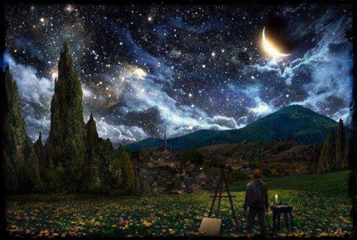 CELESTIAL PAINTING
